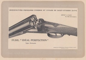 "Mahler: Gun. c1907. An original antique lithograph. 8"" x 6"". [FIELDp706]"