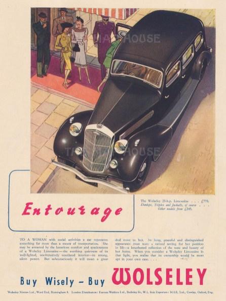 Woolsey Limousine. Entourage.
