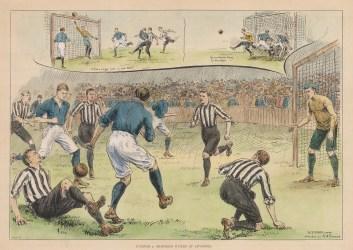 Everton v. Sheffield United at Liverpool.