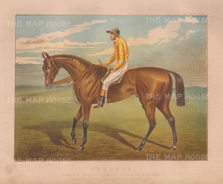 Ormonde and Champion jockey Fred Archer: The unbeaten Triple Crown winner was one of the greatest horses of the 19th century.