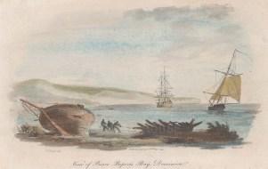 "Bunney & Gold: Prince Rupert's Bay, Dominica. 1807. A hand coloured original antique aquatint. 9"" x 6"". [WINDp1266]"