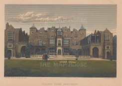 Holland House, Holland Park. Exterior view of Cope Castle, now home to the open air Holland Park Theatre and Opera.
