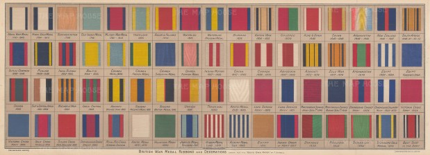 British War Medals and Decorations: Sixty eight examples from 1793-1873.