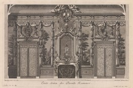 Baroque Wall Design: Parade Hall with pastoral frescos.