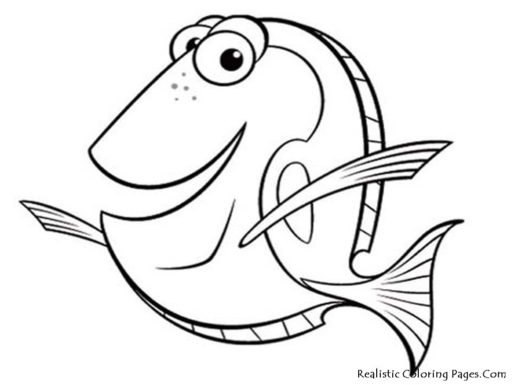 nemo fish coloring page fish coloring pages 7 free printables