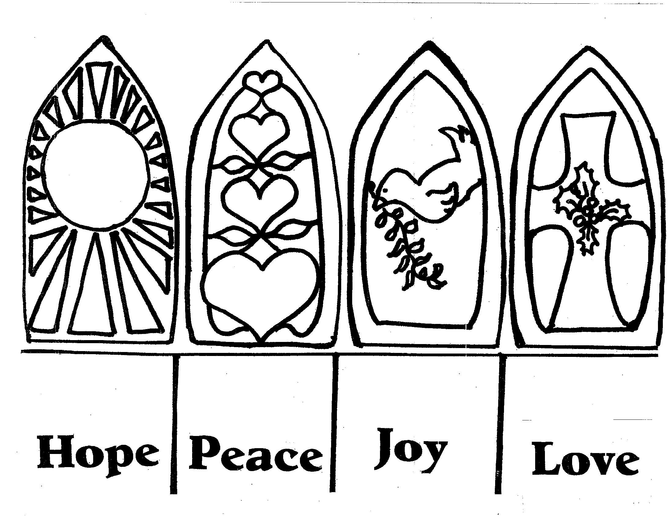 Advent Pictures Coloring Free Printables