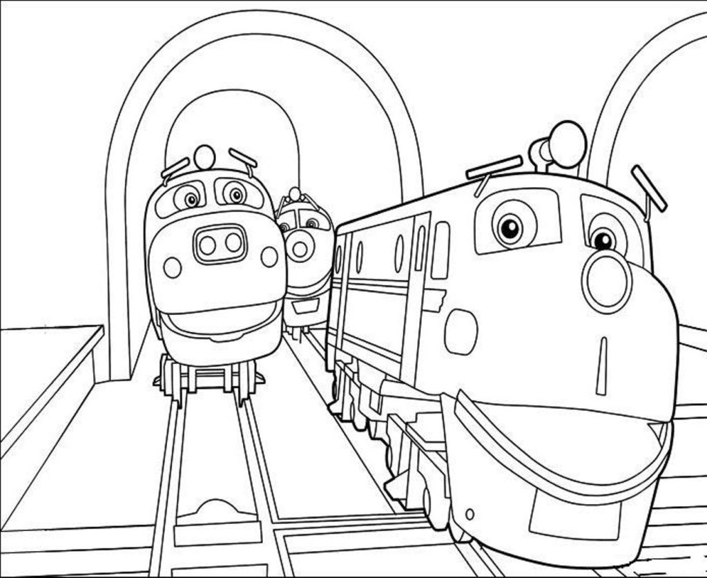 Chuggington Pictures Coloring Sheets Free Printables
