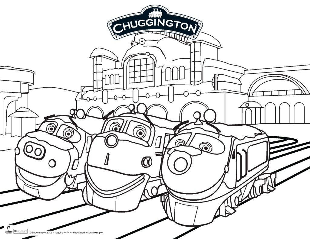 Printable Page Of Chuggington By Luke Free Printables