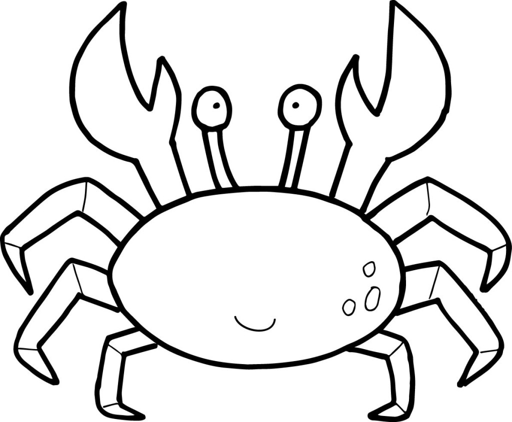 Crab Coloring Pages By Mason Free Printables