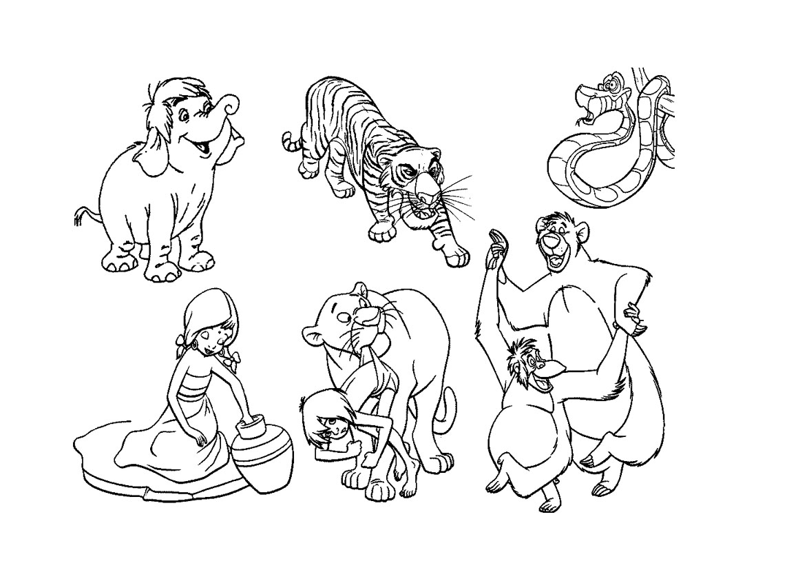Printable The Jungle Book Pictures Free Printables