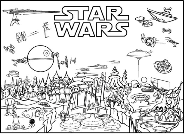 23 star wars for fiction travel free printables