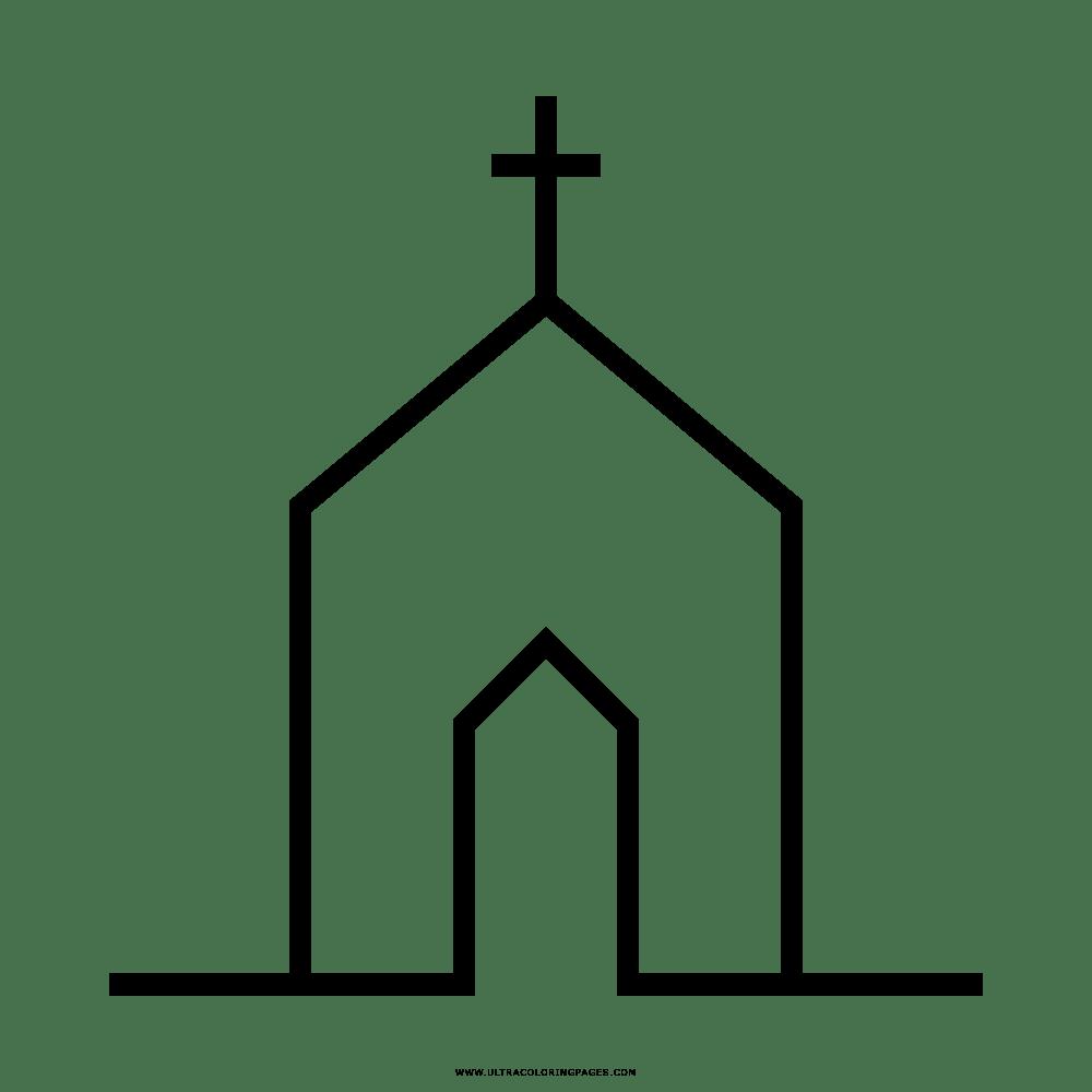 Gambar Dibujo De Iglesia Para Colorear Ultra Coloring Pages Jpeg Png ...
