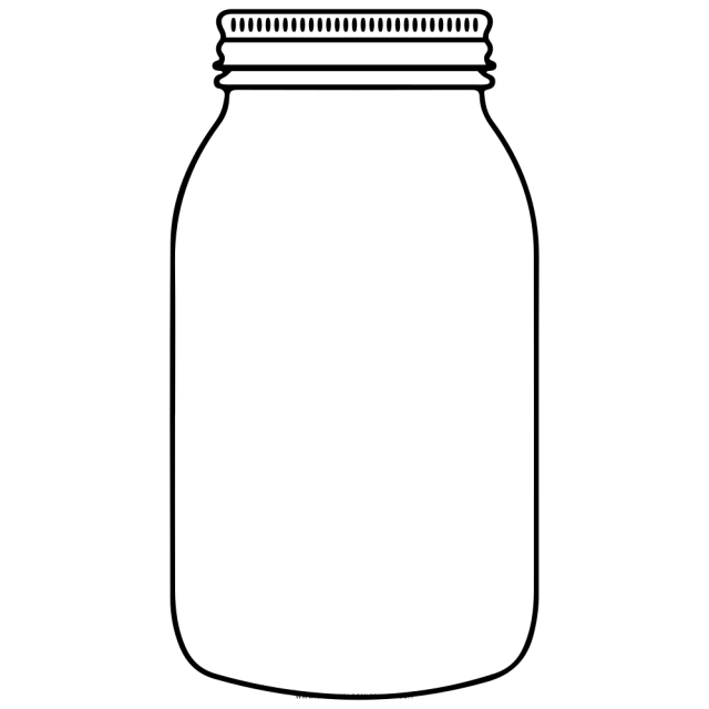 Jar Coloring Page - Ultra Coloring Pages