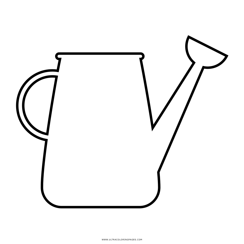 Watering Can Coloring Page Free Coloring Pages Download | Xsibe ...