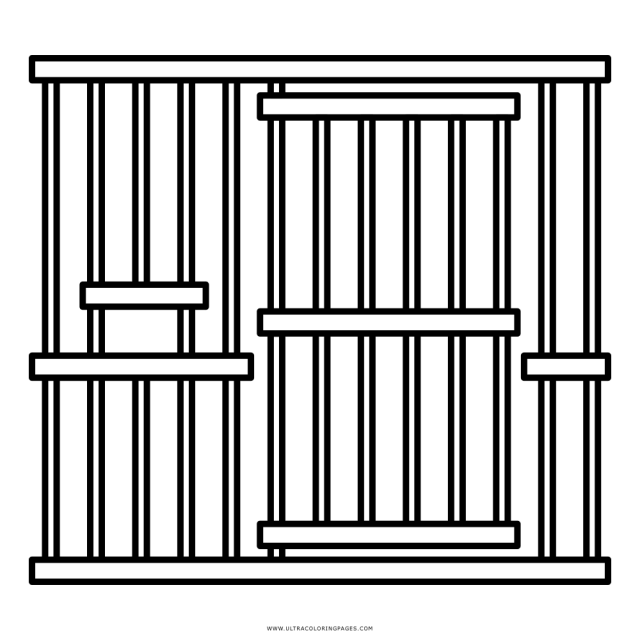 Prison Coloring Page - Ultra Coloring Pages