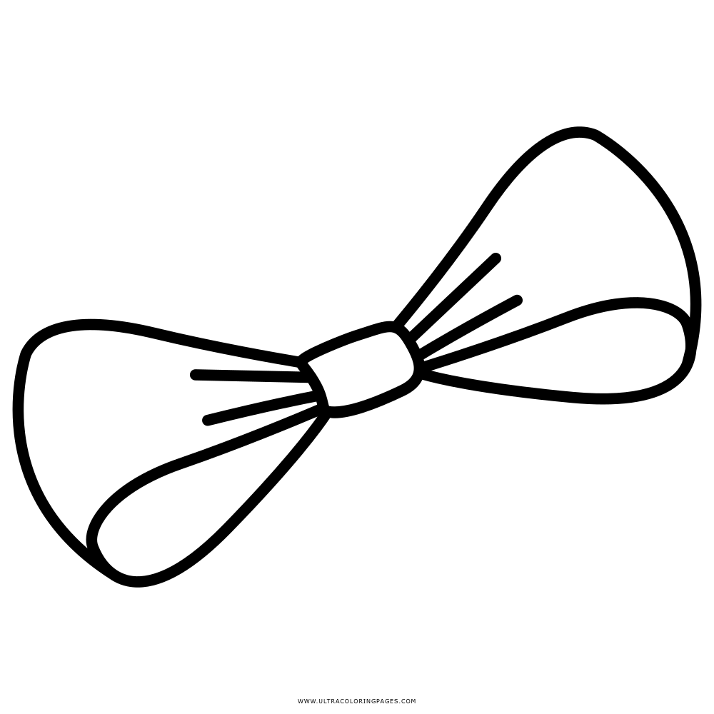 Bow Coloring Page Ultra Coloring Pages