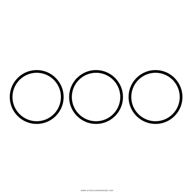 Circles Coloring Page - Ultra Coloring Pages