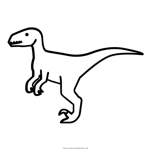 Raptor Coloring Page - Ultra Coloring Pages