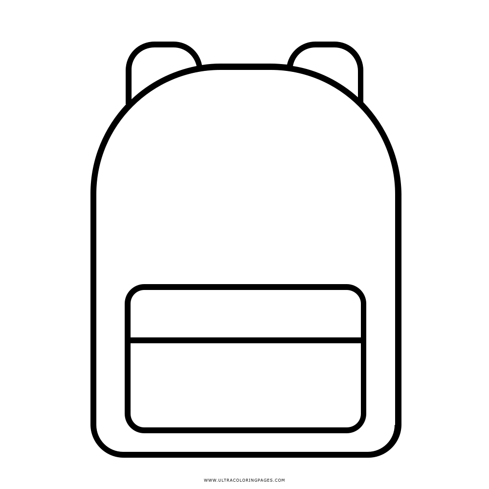 Backpack Coloring Page Ultra Coloring Pages