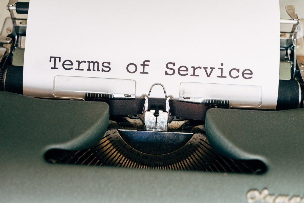 general terms and conditions, law, service