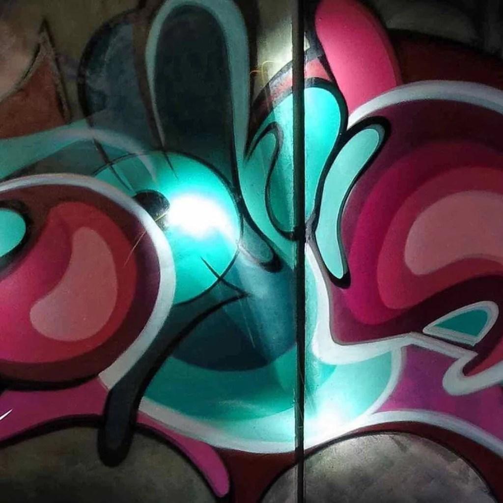 graffiti letters shana cmyk team