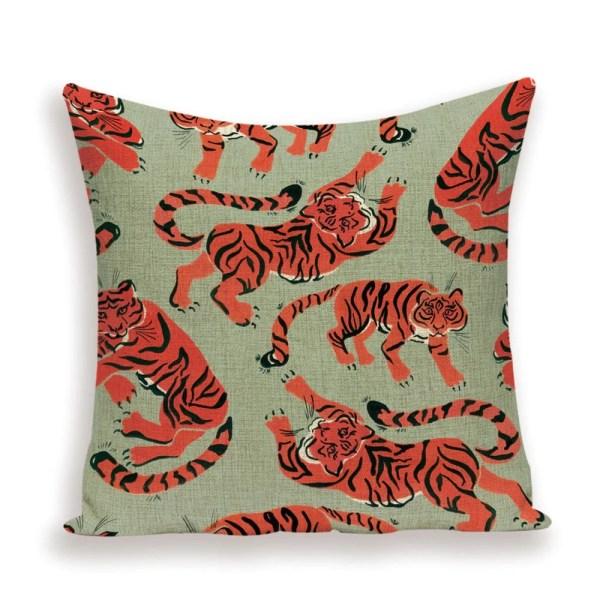 Happy tiger cushion