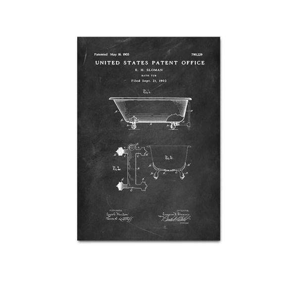 Bath tub patent
