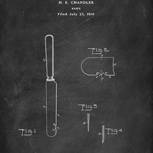Chandler Knife patent