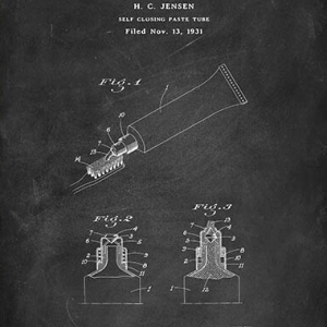 Paste tube patent