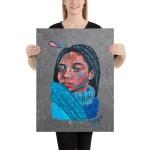 "Large canvas 18""x24"" (45,7x61)"