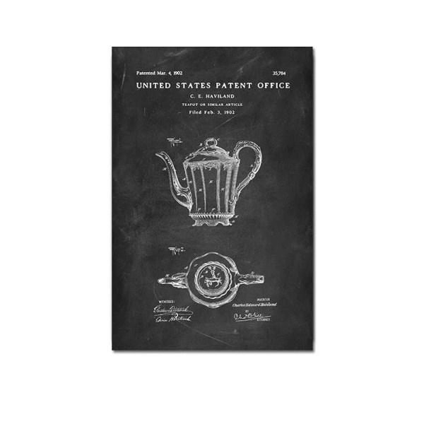 Teapot patent