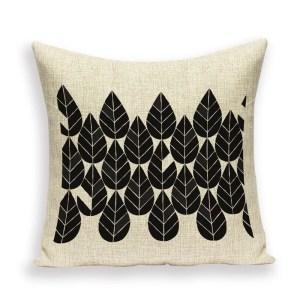 Alpine leaves cushion
