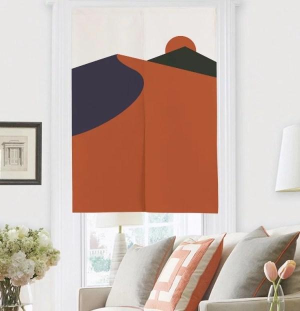Dune Valleys doorway curtain