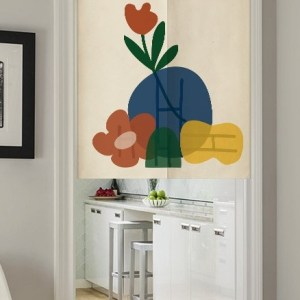 Mountain Flowers-Doorway Curtain
