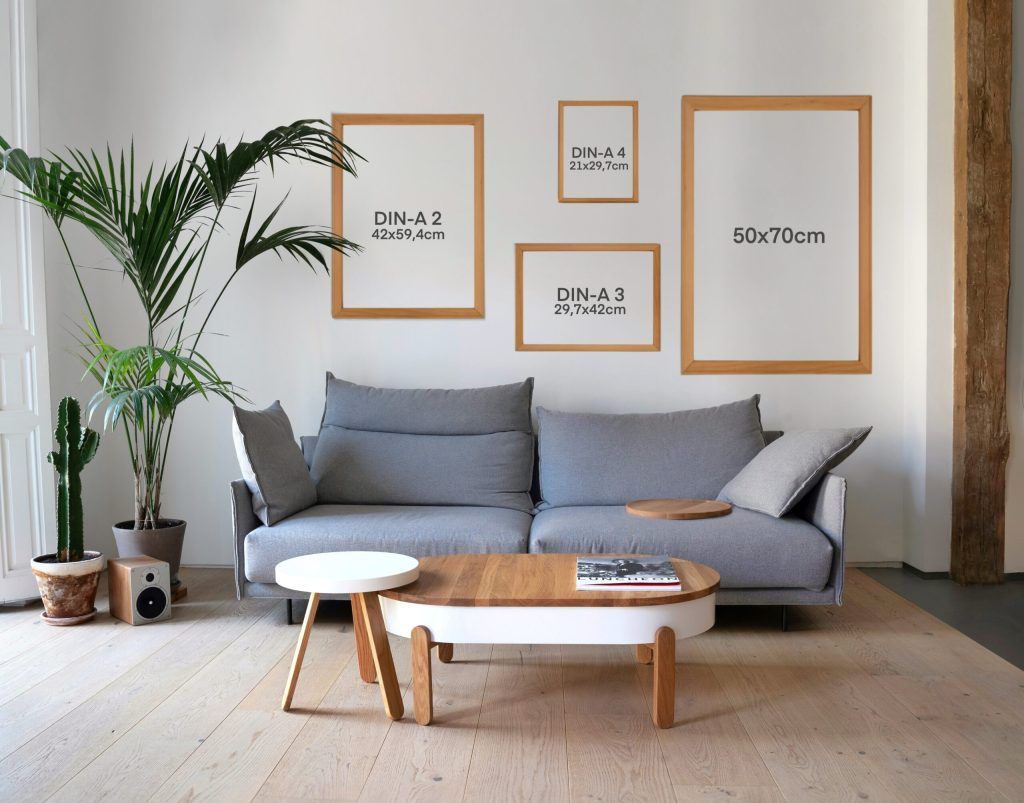 Mockup sizes prints and portraits