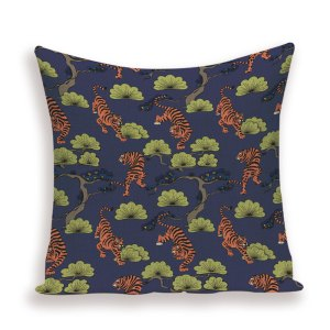 tiger tale cushion