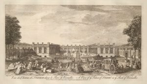 Sayer: Versailles. 1774. An original antique copper-engraving. 18 x 12 inches. [FRp1566]