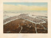 Lemercier: Venice. Hand-coloured lithograph, 1850. 13 x 18 inches. [ITp2202]