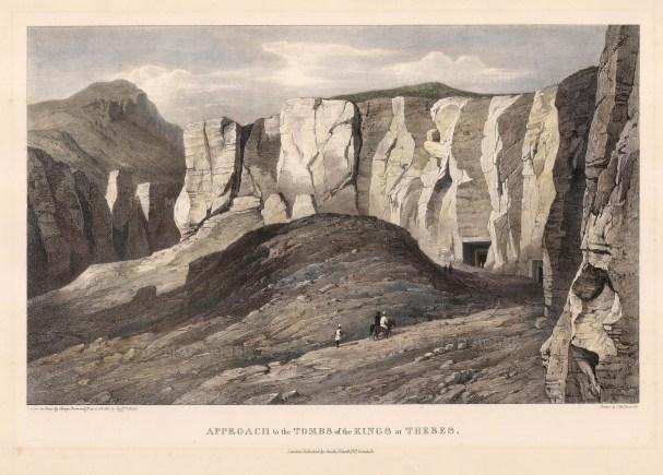 Capt. Head: Egypt. 1833. An original colour antique lithograph. 10 x 16 inches. [EGYp384]