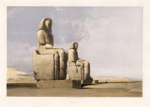 David Roberts, Thebes.