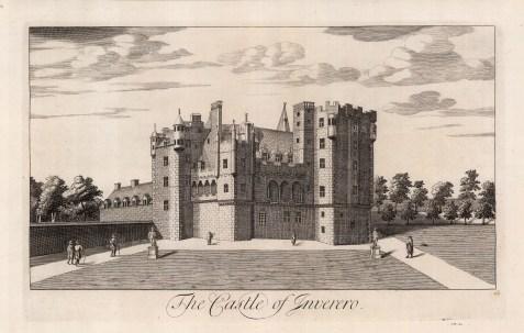 "Theatrum Scot, 'The Castle of Inverno', 1814. An original black and white copper-engraving. 11"" x 18"". £POA."