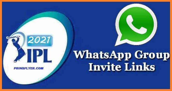 IPL Whatsapp Group Link 2021