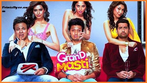 Grand Masti Full movie Download HD 720p Filmywap