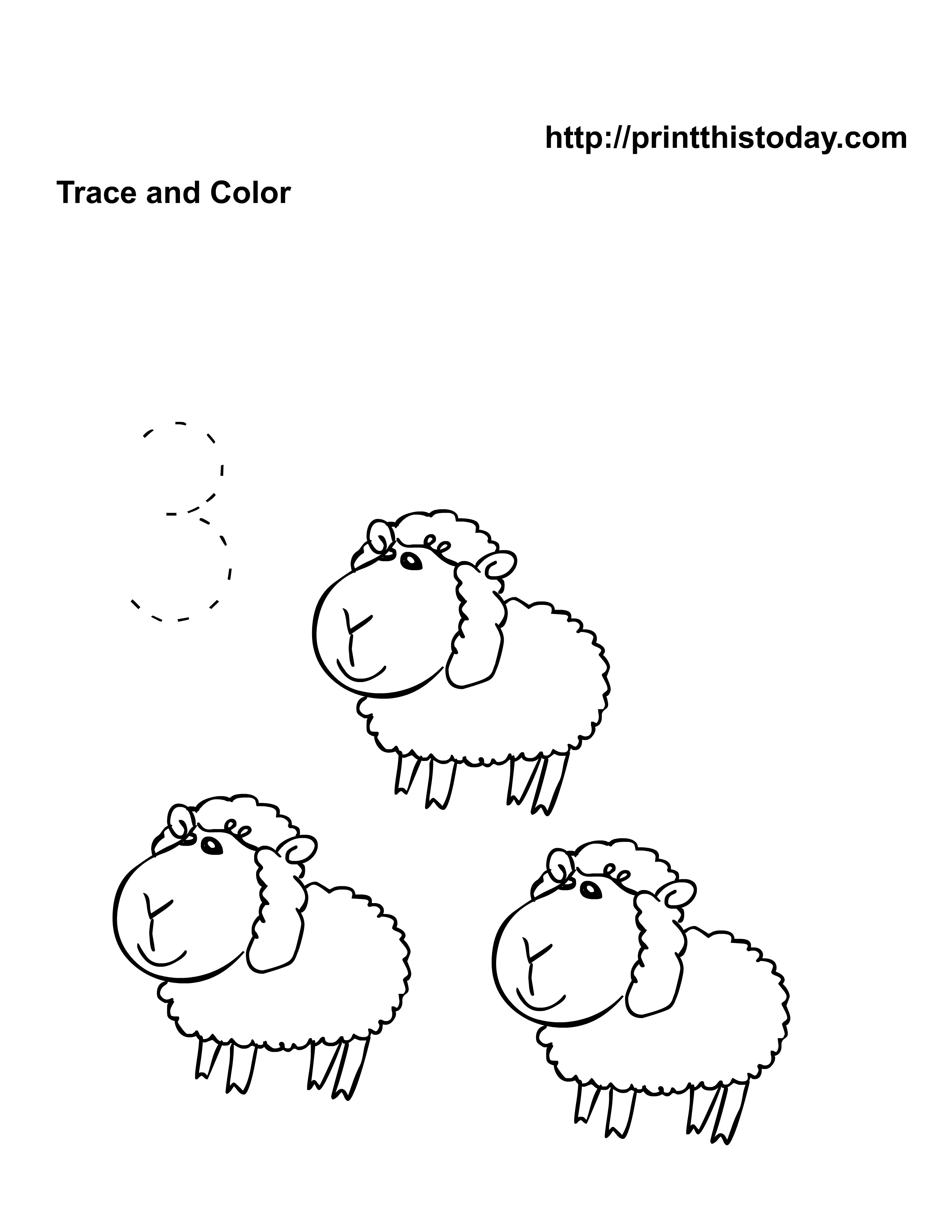 Free Pre School Kindergarten Animals Math Worksheets