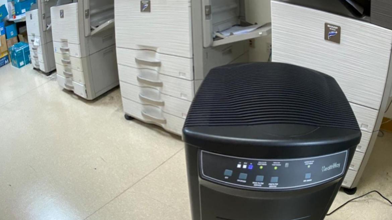 普印通室內空間空氣品質改善優化客戶案例:台灣 TCB Bank 合作金庫商業銀行總行