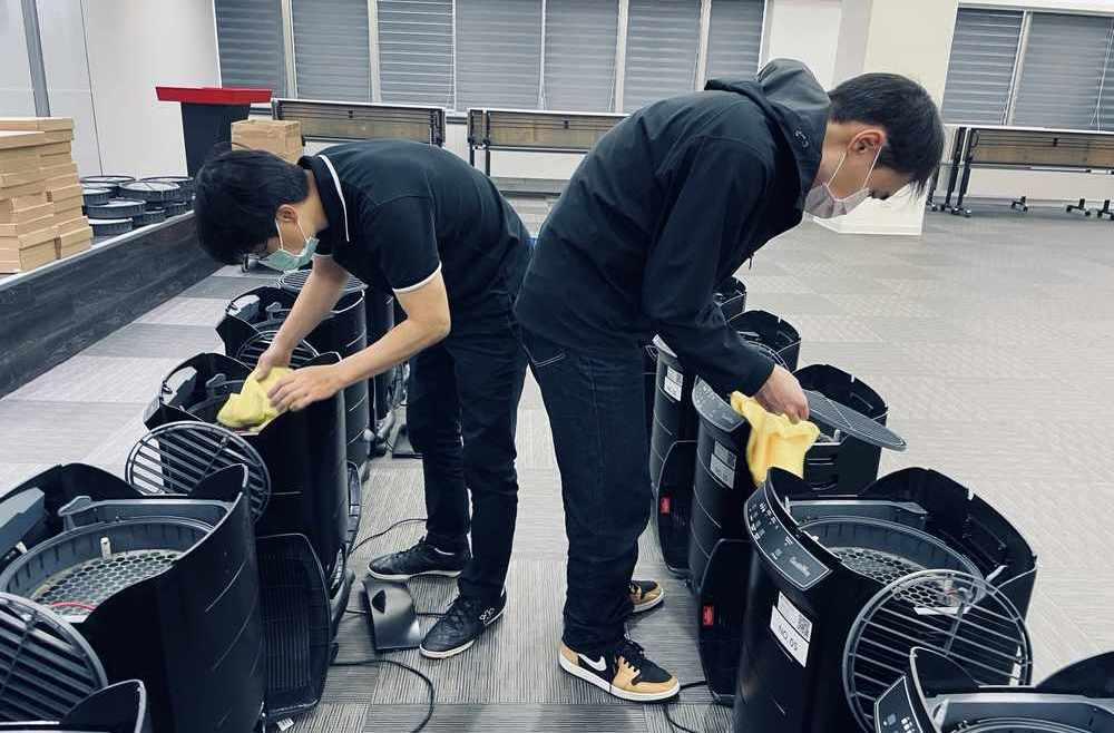 普印通提供商用空氣清靜機出租,備有專人定期到府保養與更換耗材