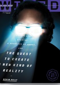 Kevin Kelly's cover story on Hypervision appears in the the May 2016 issue of Wired.