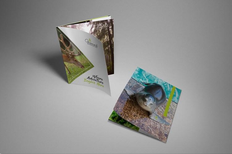 Gloss Stapled Brochure Printing