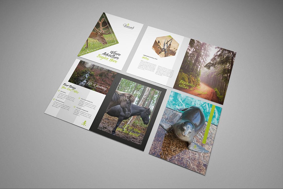 Stapled A6 Brochure Printing
