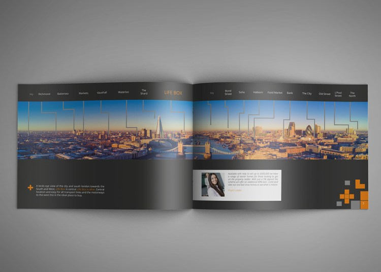 Glossy Landscape Brochure Printing